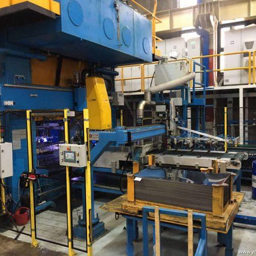 Hydraulic Press Sheet Metal Feeding System