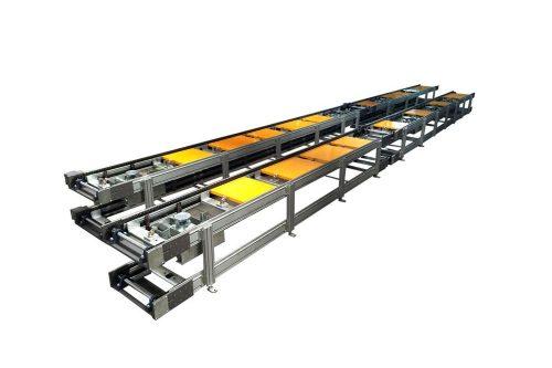 Oven Interior Body Installation Line Conveyor System